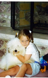 laney with bobby-as puppy